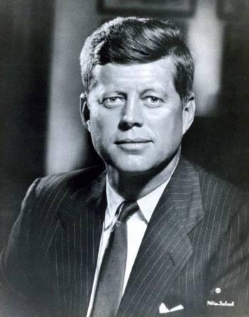 File President John F. Kennedy