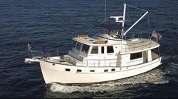 File Trawler Yacht Krogen 44AE: Photo credit Kadey-Krogen
