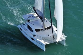File A Leopard 39 Catamaran: Photo credit Leopard