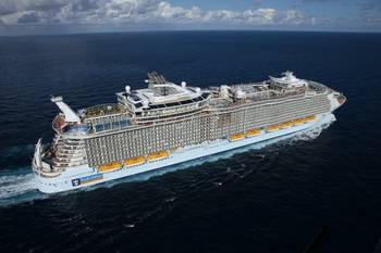 File Allure of the Seas. Photo: Royal Caribbean