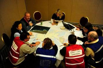 File Kuluk Unified Command Meet: Photo credit USCG