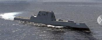 File DDG 1000 Zumwalt-class Destroyer: Image credit USN