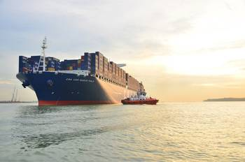File CMA CGM Marco Polo: Photo credit CMA CGM