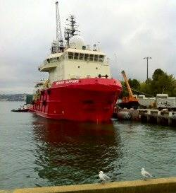 File Dive Support Ship Mermaid Sapphire: Photo courtesy Acutec