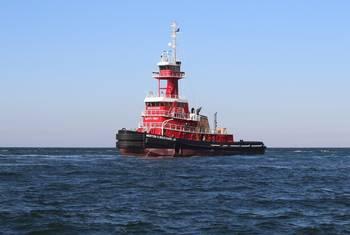 File M/V Morton S. Bouchard Jr. on sea trials (Photo: VT Halter Marine)