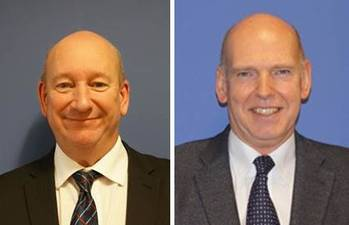 File Bob Barrett, Global Sales Manager – NASNet (left) and Donald Thomson, VP Sales, Global Commercial Acoustics