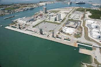 File North Cargo Piers 1 and 2 (Photo courtesy of Port Canaveral)