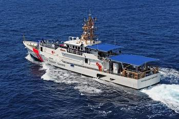 File Coast Guard Cutter Margaret Norvell is named after lighthouse keeper Margaret Norvell who served with the U.S. Lighthouse Service for more than 41 years. U.S. Coast Guard photo.