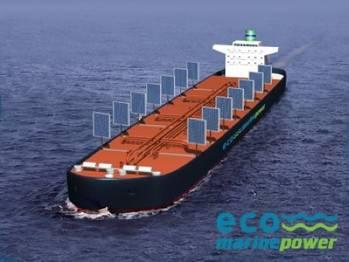 File Aquarius MRE Ship: Image credit Eco Marine Power