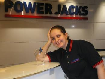 File Power Jacks engineer Alison Petrie with her apprenticeship award