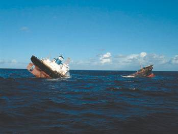 File Ship failures — such as the breaking up and sinking of Prestige — often result in design improvements.