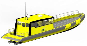 File The Tuco designed and built 16m surfer crew boat will be marketed by MarinOIL for offshore crew supply operations.