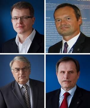 File Clockwise from top left: Dariusz Rudziński, Grzegorz Petkke, Jan Jankowski and Jerzy Wyrzykowski