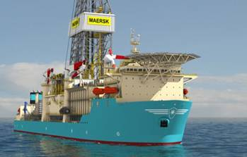 File Maersk Drill Ship: Photo courtesy of Maersk Drilling