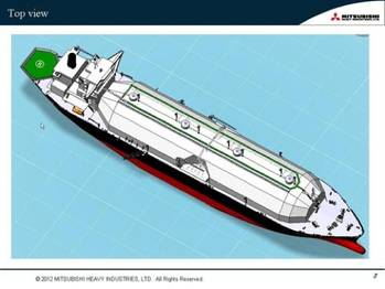 File Sayaendo LNG Carrier: Image credit MHI