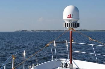 File Electronic SATCOM antenna: Photo credit IMST