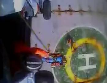 File screenshot of USCG video