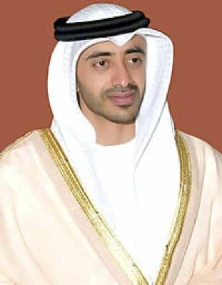 File Opening speaker: H.H. Sheikh Abdullah bin Zayed al Nahyan UAE Minister of Foreign Affairs: Photo credit ADPC