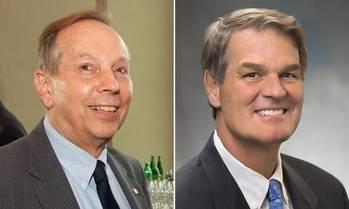File Jim McNamara (left) and Orrin H. Ingram