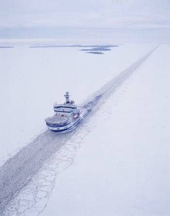 File Icebreaker MSV Botnica: Photo credit Port of Tallinn