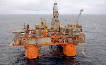 File Snorre Rig: Image courtesy of Statoil