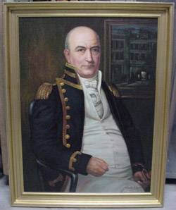 File Portrait of Thomas Tingey, NHHC Art Gallery Collection