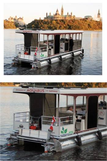 File Aquabus, a new water-taxi service in Ottawa, Ontario