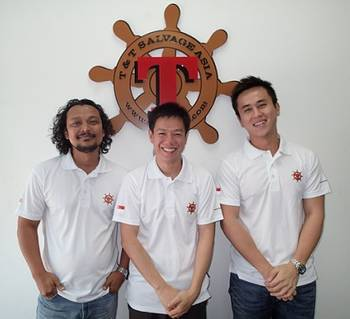 File Left to right: Hussain Shah, Lee Hiok Liang and Alex Ang Yew Boon