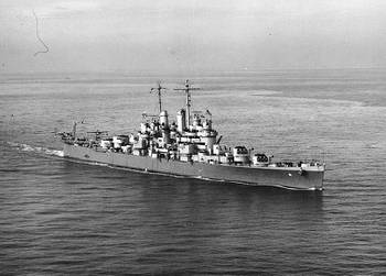 File USS Cleveland (CL-55), U.S. Naval Historical Center Photograph