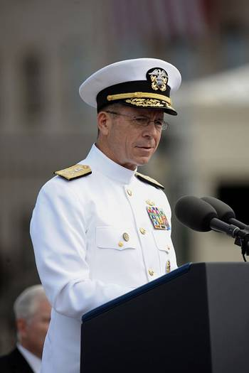File Adm. Michael Mullen, the chairman of the Joint Chiefs of Staff-- U.S. Navy photo by Mass Communication Specialist 1st Class Chad McNeeley
