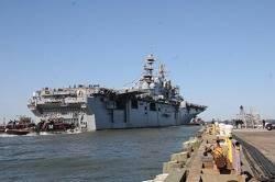 File USS Iwo Jima: Photo credit USN