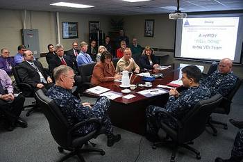 File Virtual Desktop Presentation: Photo credit USN