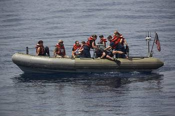 File A Navy RHIB:Photo courtesy of USN