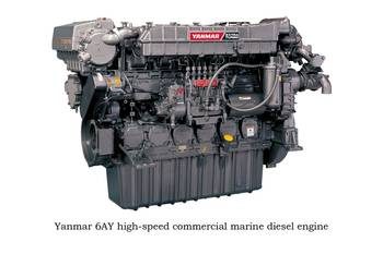 File Yanmar high-speed diesel engine