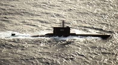 File photo: Indonesian submarine KRI Nanggala (402