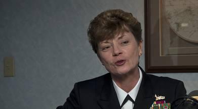 Ann Phillips (File photo: Josh Bennett / U.S. Navy