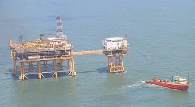 Louisiana Offshore Oil Port, Pumping Platform Comp