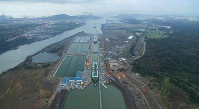 On April 17, the Panama Canal transited three LNG