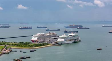 Ports in Singapore have started screening inbound