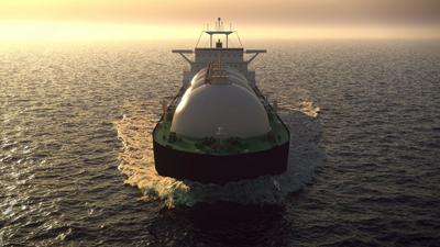 LNG Carrier Illustration - Credit: alexyz3d /AdobeStock
