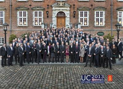 160 delegates from all over Europe joined UC2013.