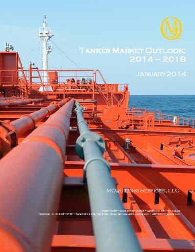 2014-2018 Tanker Market Outlook': Image courtesy of McQuilling Services