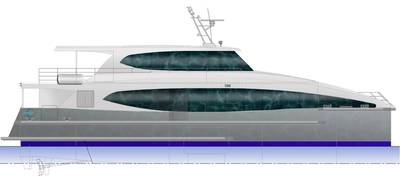 24m Catamaran Passenger Ferry Courtesy Strategic Marine