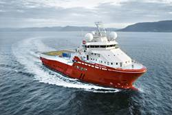 3000grt Boa Galatea - offshore survey vessel.