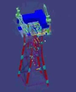 3D Imaging on Rig: Image credit Intergraph