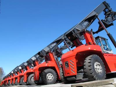 45 units have been distributed across South Africa. Photo Kalmar
