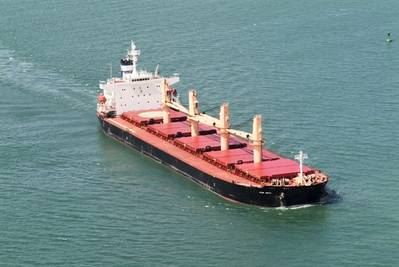 52,434 dwt supramax bulk carrier Star Delta (Photo courtesy of Star Bulk Carriers)