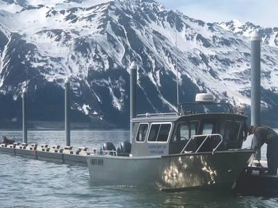 A 27' Alaska Fish & Game patrol boat (Photo: North River Boats)