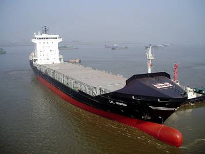 A Centrans Bulk Carrier: Photo credit Centrans Ocean Shipping