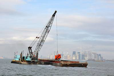 A dredging operation: File photo CCL